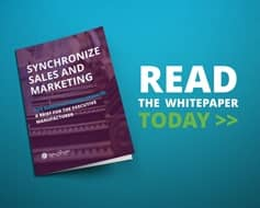Synchronizing Sales and Marketing Whitepaper, align with your allies.